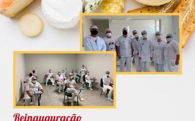 Curso de Queijos na Rica Nata inaugurando as novas instalações.