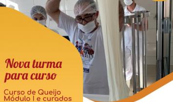 Cursos de Queijos Rica Nata - Curso de Módulo I e Curso de Queijo Curado. 26 a 29/10/2021