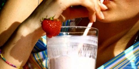 Bebida láctea fermentada com edulcorante