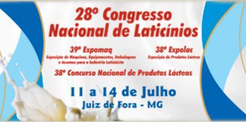 28º Congresso Nacional de Laticínios abre inscrições para Palestras e Minicursos