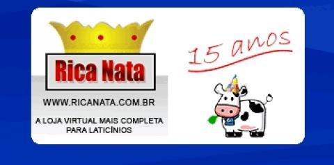 Empresa Rica Nata - 15 anos de sucesso no setor laticinista!