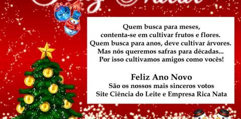 Aos Clientes e Amigos... Feliz Natal