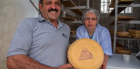 Produtor de queijo artesanal serrano em São Francisco de Paula conquista Selo Arte, diz Seapdr