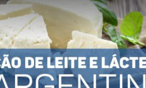 Produção de leite e lácteos na Argentina