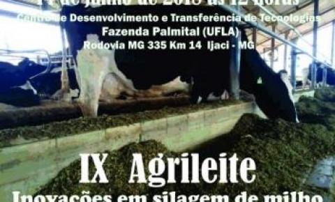 9º Agrileite será realizado na próxima semana na Fazenda Palmital, diz Ufla