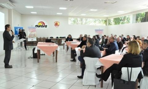 """Sebrae e Aurora Alimentos formalizam nova etapa do """"Encadeamento Produtivo"""""""