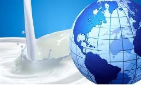 Mundo: Crecimiento de producción lechera en su menor nivel desde 2013.