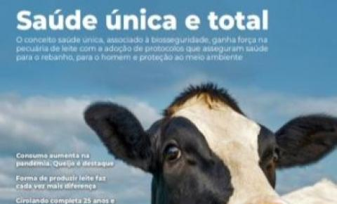 Crescimento do consumo de lácteos na pandemia é um dos temas do Anuário Leite 2021