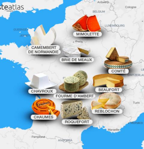 Top 10 queijos franceses – parte 2
